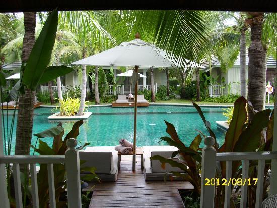 Rest Detail Hotel Hua Hin: Unsere Terrasse