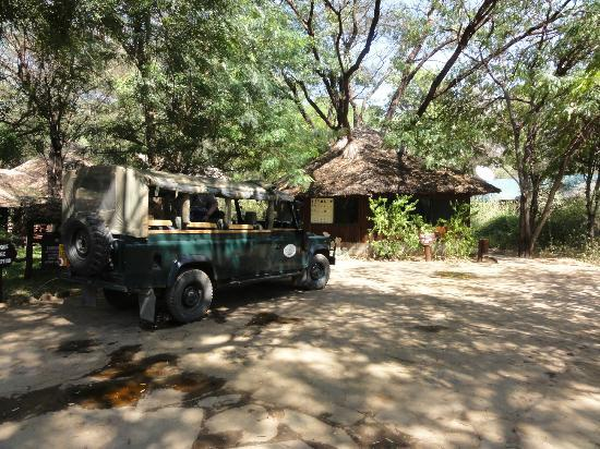 Samburu Intrepids Luxury Tented Camp: Entrance