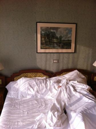 Bellevue et Mediterranee: camera da letto stantia