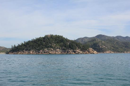 Magnetic Island Bed & Breakfast: A small part of the Magnetic Island coastline from the Townsville ferry