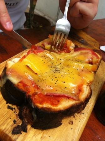 Cappuccino Bakery & Coffee House: the bruscetta is nice too