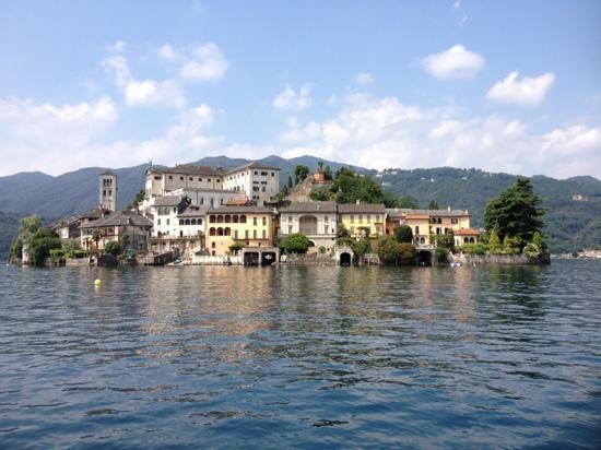 Ristorante Imbarcadero: isola San Giulio