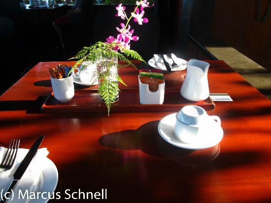 "Radisson Blu Resort Fiji Denarau Island: Breakfast table at ""The Cross"""