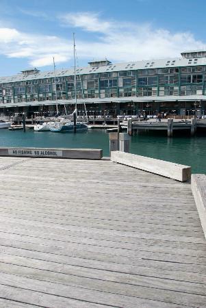Woolloomooloo Wharf: On the Wharf