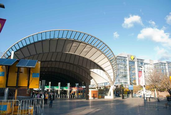 Olympic Stadium Park Station Is Near The