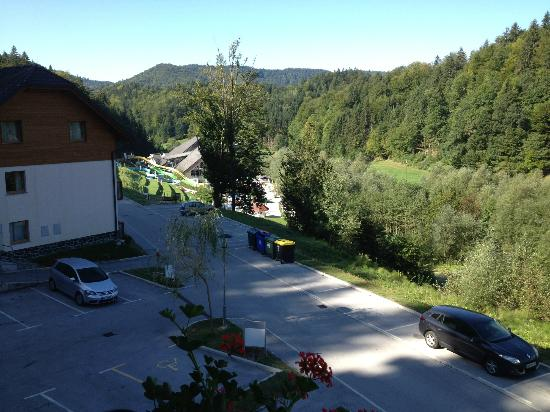 Terme Snovik: View from balcony