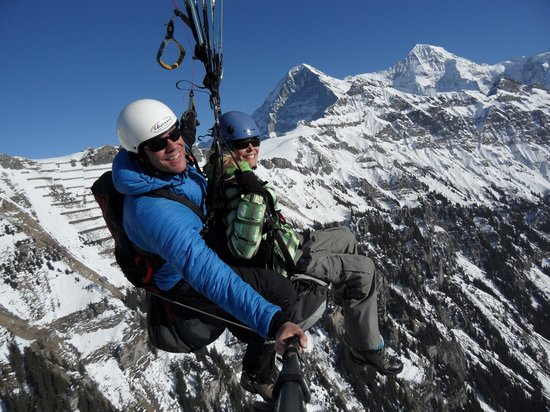 Airtime Paragliding: Face-to-face with the snow-capped mountains