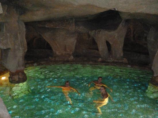 Malama Beach Holiday Village Indoor Cave Theme Pool