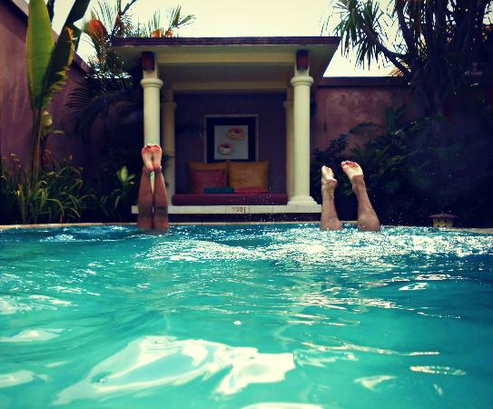 The Bli Bli Villas & Spa: Private pool