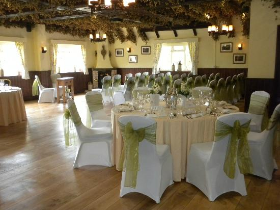 The Black Horse Inn: Wedding function in The Pilgrim Suite
