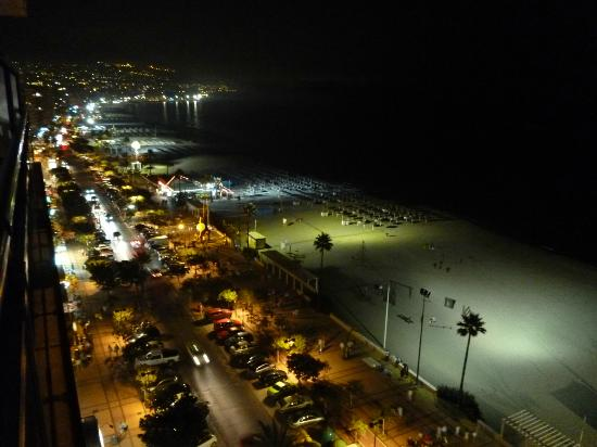 Yaramar Hotel: View from room at night