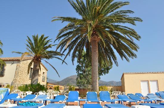 Hotel San Carlos : La piscine