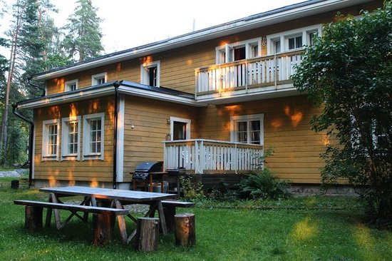 Huuvari, Финляндия: Abborsjö Bed & Breakfast