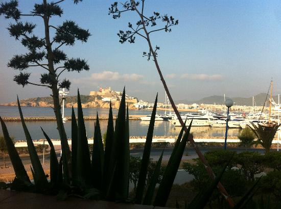 Ibiza Corso Hotel & Spa: View of old town from room