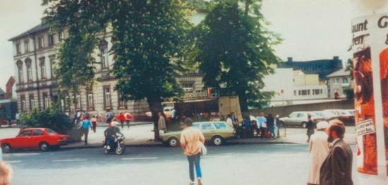 back in the good old days... 30 Jahre Bahnhofsgrill