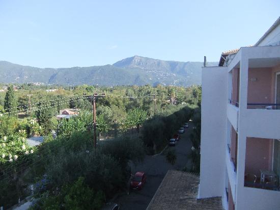 Elea Beach Hotel: View behind the hotel