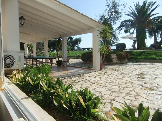 Elea Beach Hotel: View from the restaurant