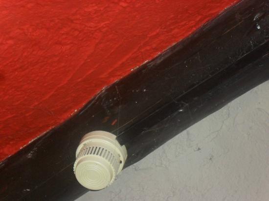 L'Aubergesves: plafond
