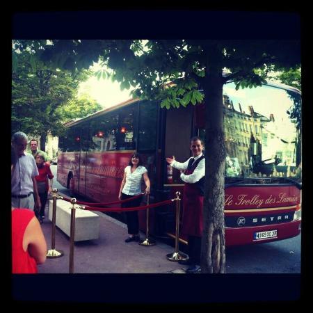 Le Trolley Des Lumieres : Superbe accueil...