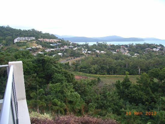 Whitsunday Reflections: From outside my bedroom on the balcony