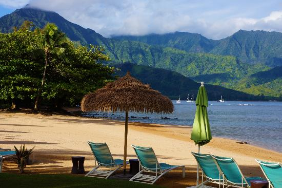 Hanalei Bay Resort: Pu'u Poa Beach (shared with St Regis)