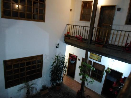 Casa Platypus: Innenhof