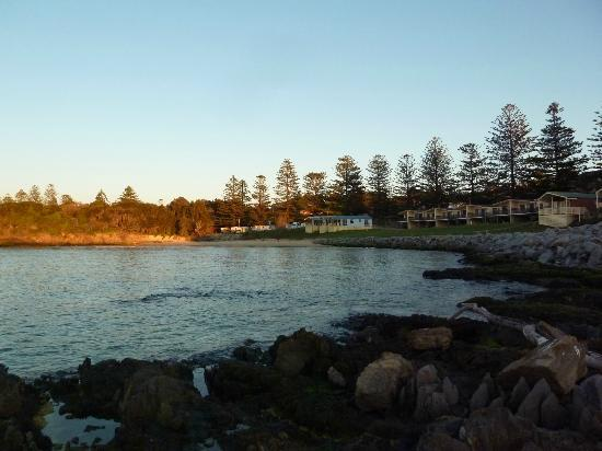 Tuross Beach Holiday Park: Early morn