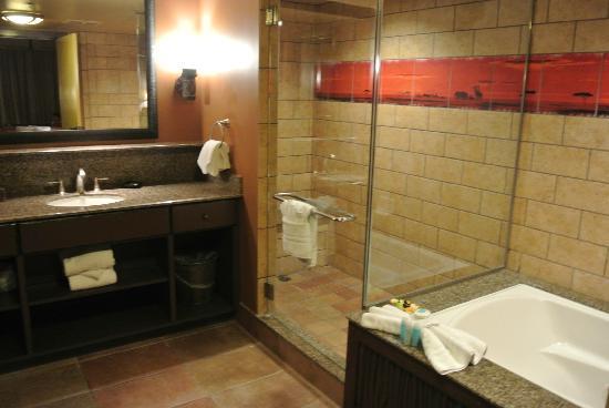 Shower picture of disney 39 s animal kingdom villas for Village bathroom photos