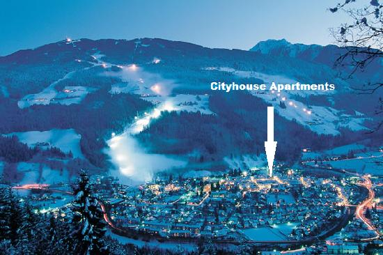 Cityhouse Apartments: Lage Cityhouse Apartment in Schladming