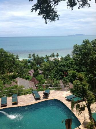 Haad Yao Over Bay Resort: View from our bungalow!
