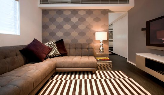 Ovolo Sheung Wan (Serviced Apartment): Living Room