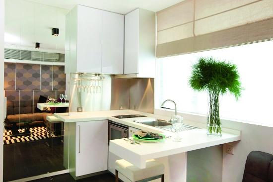 Ovolo Sheung Wan (Serviced Apartment): Pantry