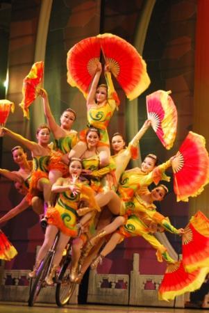Chaoyang Theater: de vrouwelijke acrobates