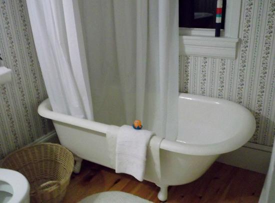 Mecklenburgh Inn: bathtub