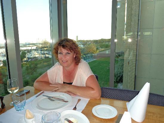 WestCord Hotel Schylge: Uitzicht tijdens diner