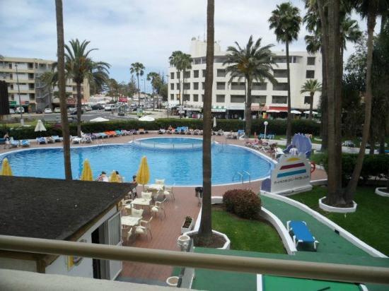 Playa del Sol -  Adults Only: vista dal balcone della nostra camera