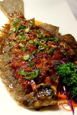 My Lime Cuisine: A whole scored flounder