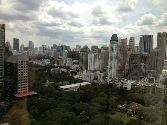 Plaza Athenee Bangkok, A Royal Meridien Hotel: View from my room