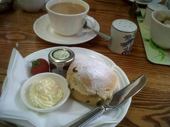Fyvie, UK: Tea room!