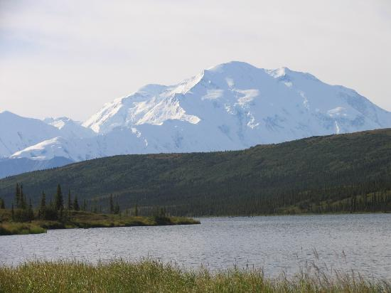 Denali Backcountry Lodge: The Mountain was out for us. :)