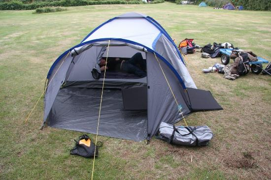 Garrison Campsite & Holiday Cottages: chilling