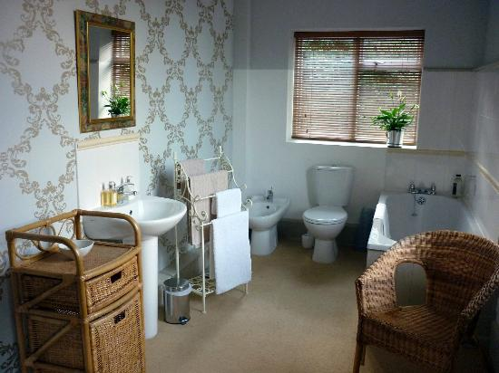 Plas Uchaf Country Guest House: Large En-Suite Bathroom