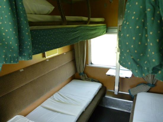 Malayan Railways: Second class bunk beds