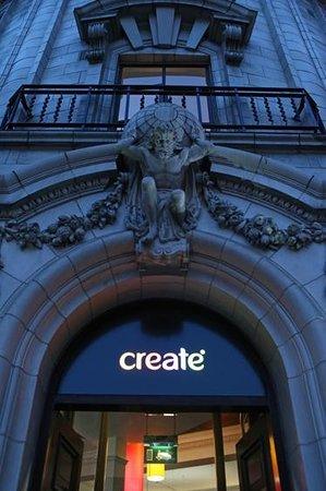Create Restaurant: Outside Create