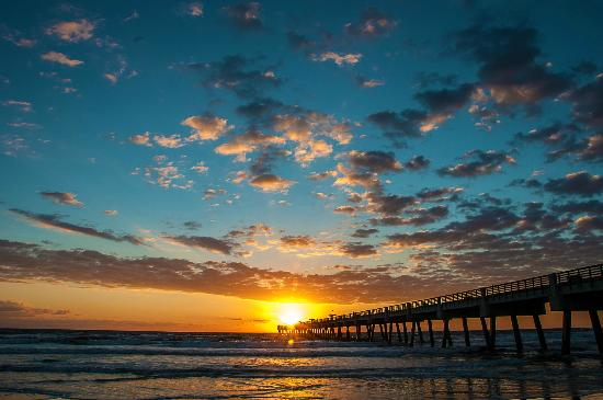 Jacksonville Beach, Floride : Any Time of the Day is a Beach Day!