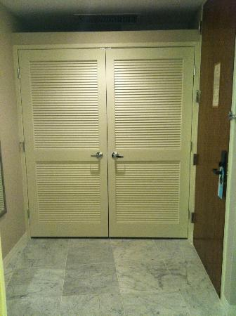 Hilton Dallas Lincoln Centre: Huge Entry Closet