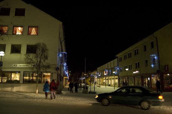 Scandic Kirkenes Restaurant: piazza principale kirkenes - 02.00 p.m.