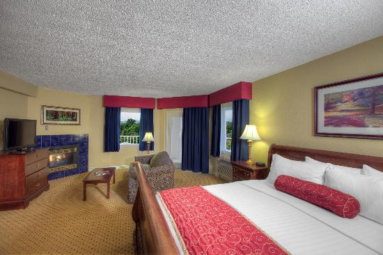 At Music Road Resort HOTEL choose rooms with a fireplace, jacuzzi ...