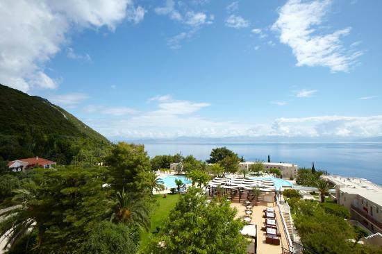 MarBella Corfu Hotel: Panoramic view