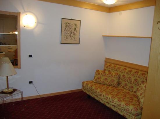 Residence Contrin: Divano letto